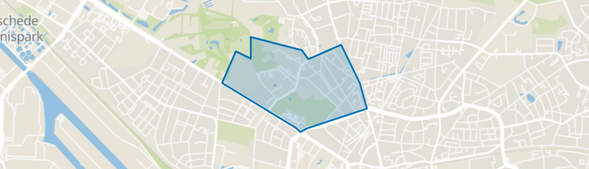 Walhof-Roessingh, Enschede map