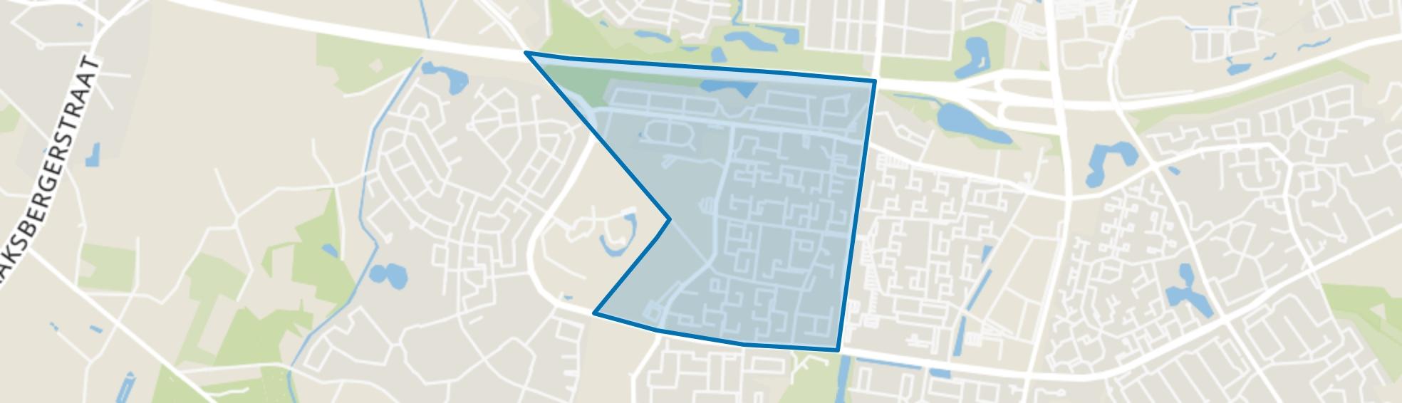 Wesselerbrink Noord-West, Enschede map
