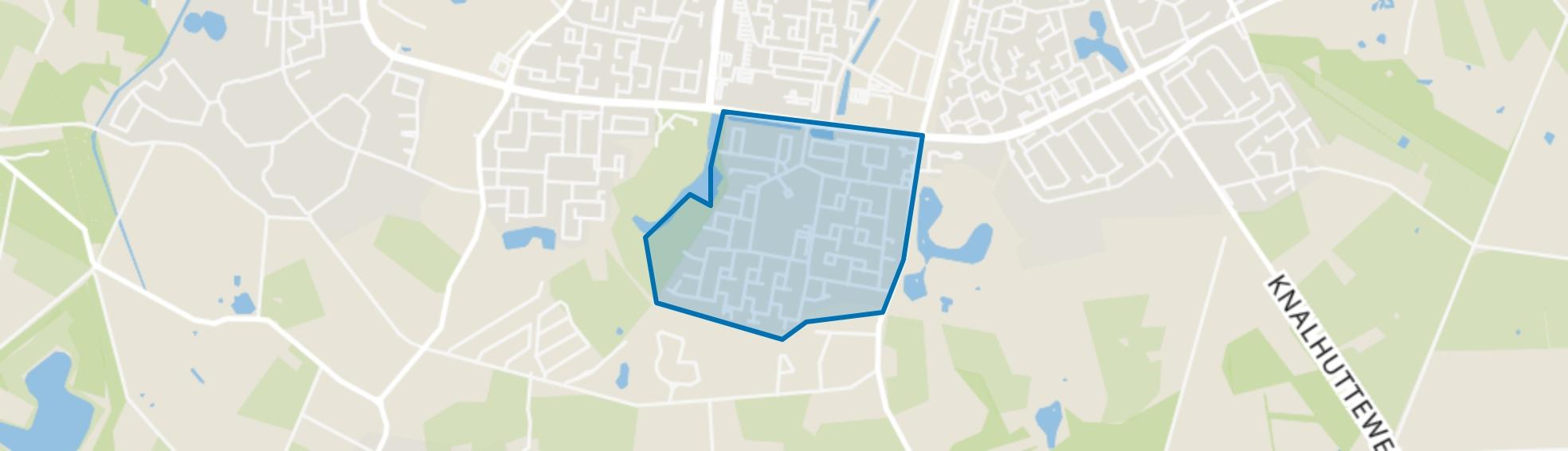 Wesselerbrink Zuid-Oost, Enschede map