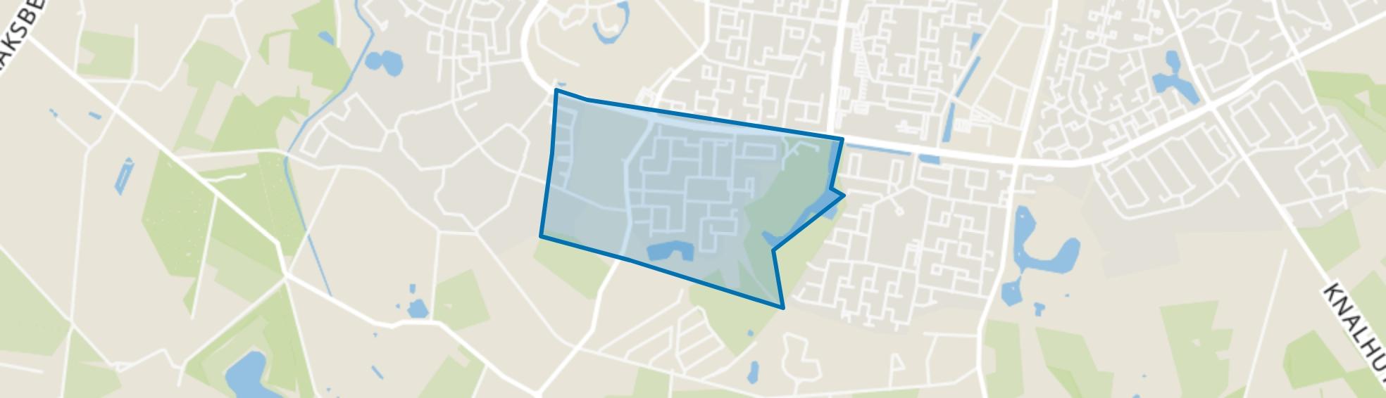 Wesselerbrink Zuid-West, Enschede map