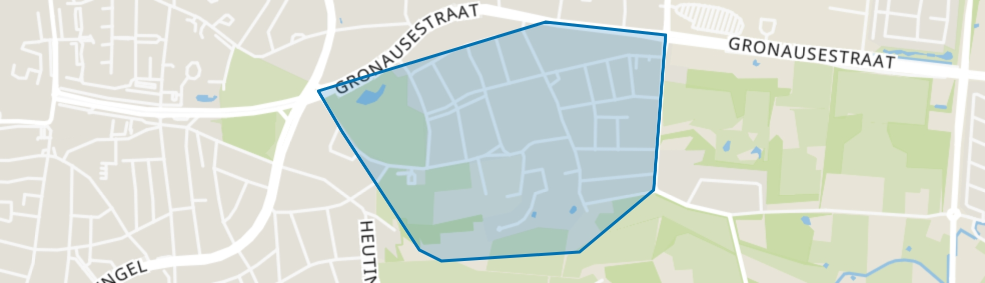 Wooldrik, Enschede map