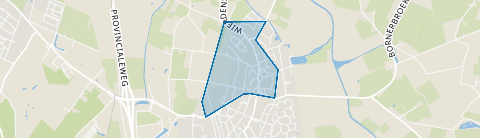 Enter-Noordwest, Enter map