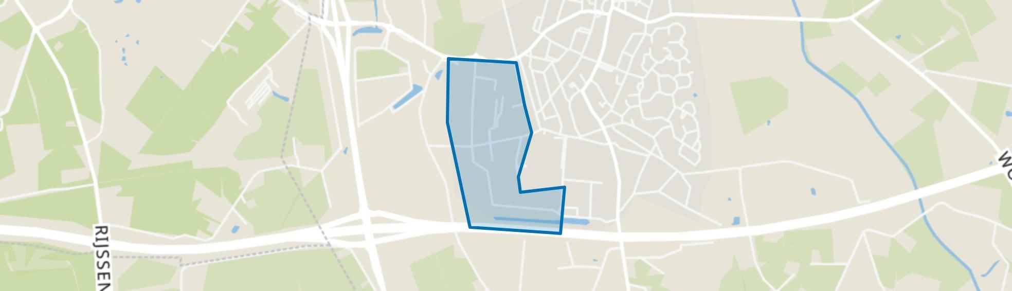 Enter-West, Enter map