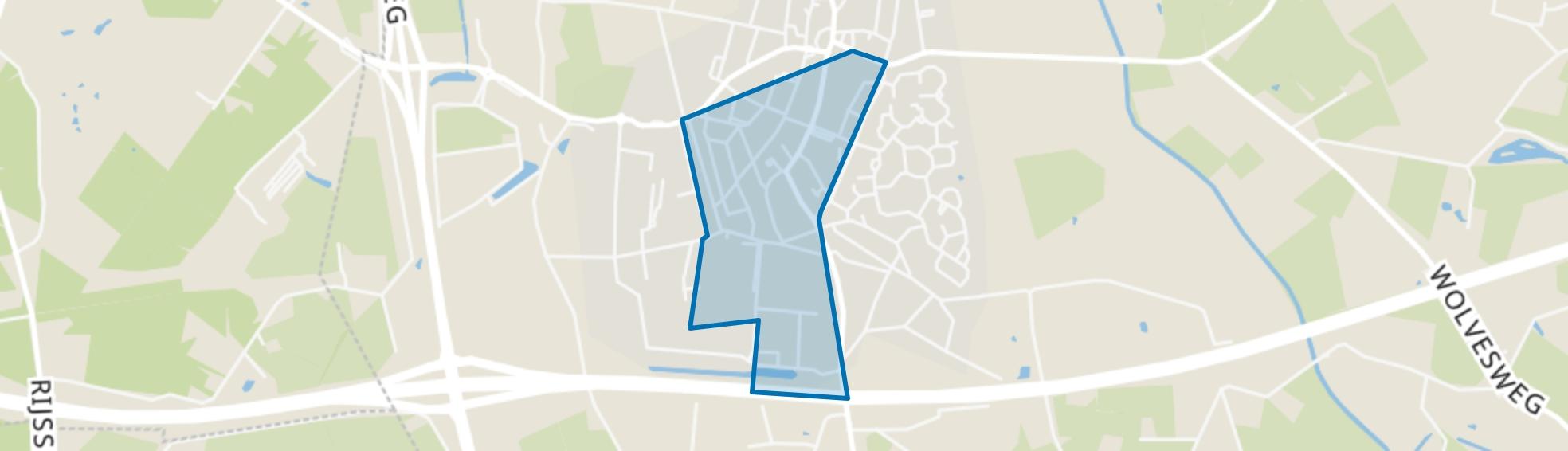 Enter-Zuidwest, Enter map