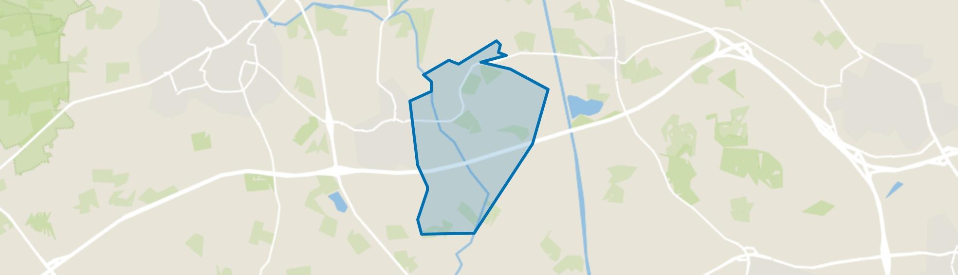 Verspreide huizen Enterbroek en omgeving, Enter map