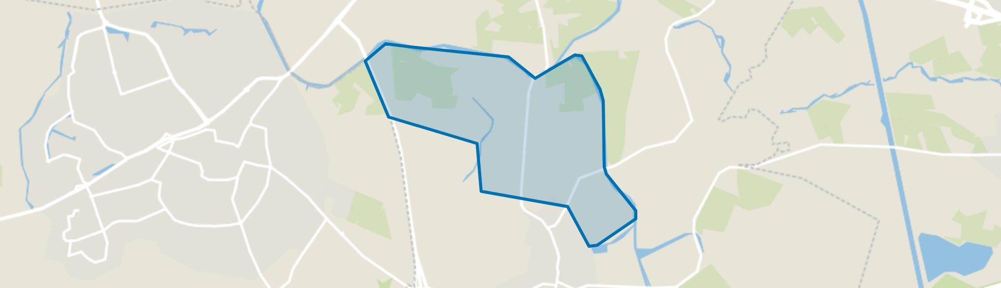 Verspreide huizen Waterhoek, Enter map