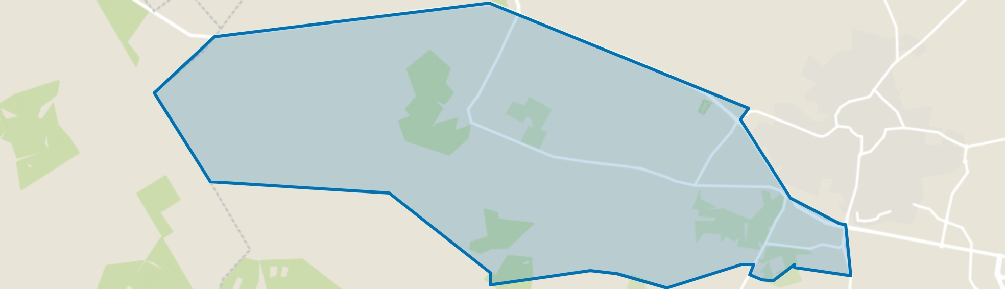 Buitengebied Epe West, Epe map