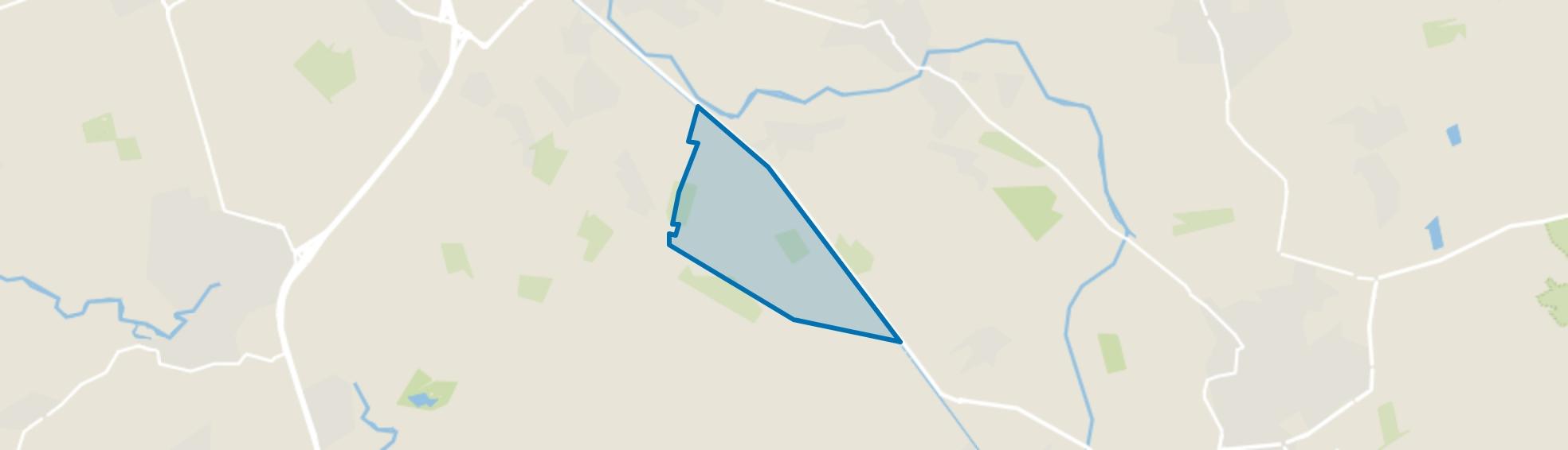 Buitengebied Geregt, Erp map