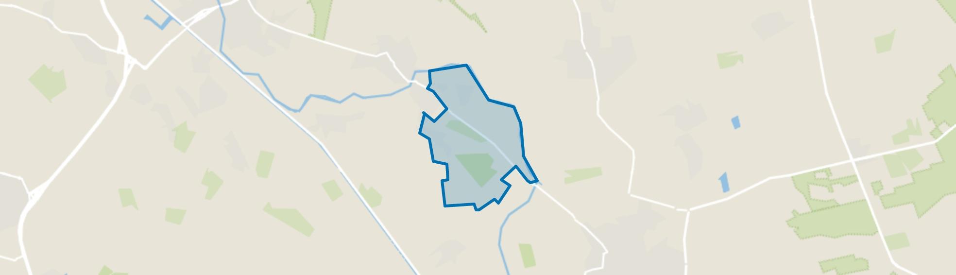 Buitengebied Hurkske en Hoek, Erp map