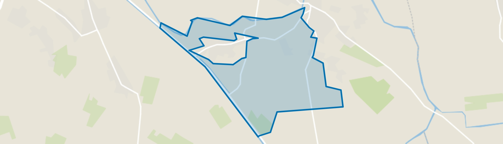 Buitengebied Keldonk, Erp map