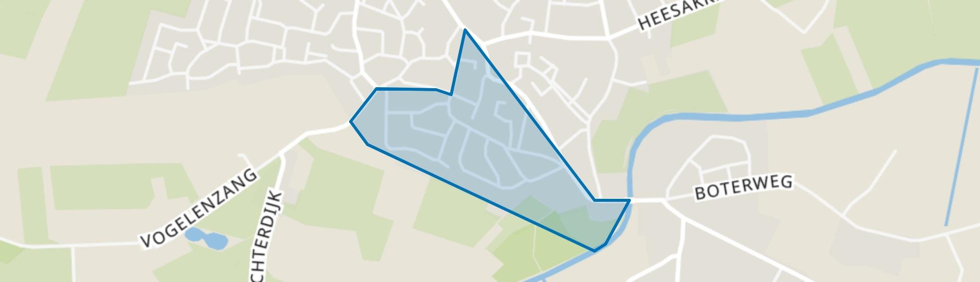 Empeldonk, Erp map