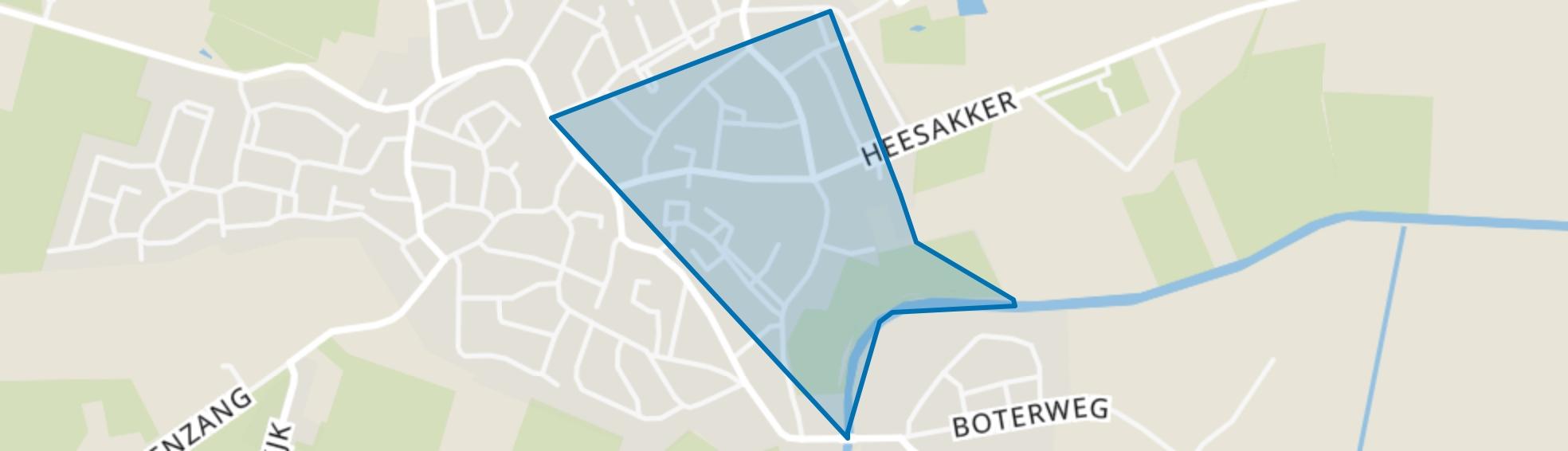 Erp Centrum, Erp map