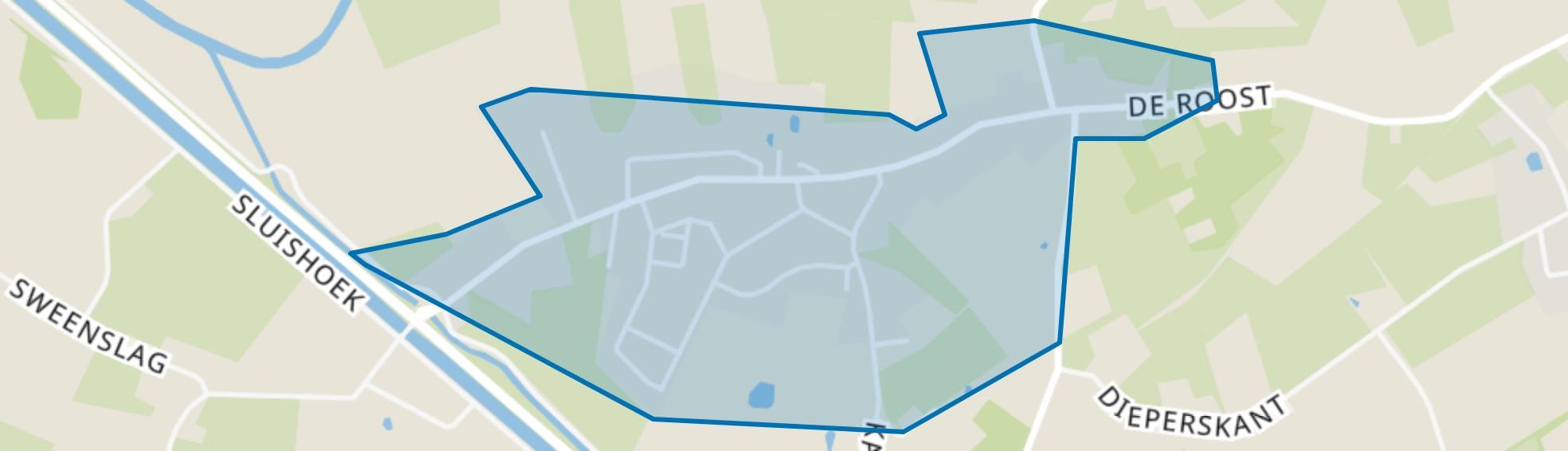 Keldonk, Erp map