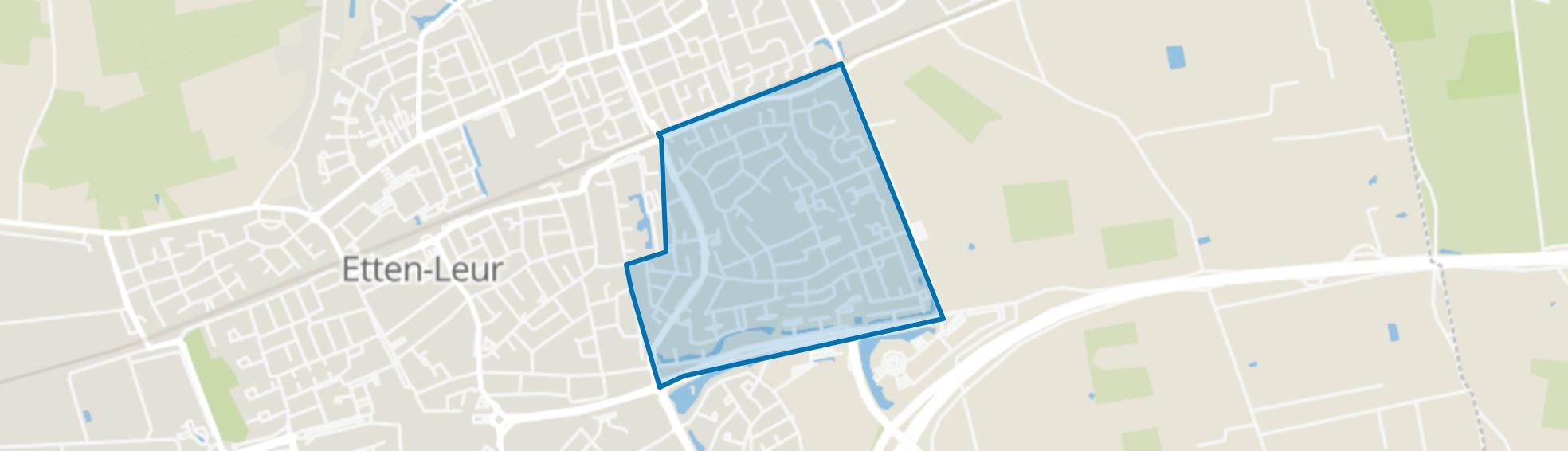 Het Hooghuis, Etten-Leur map