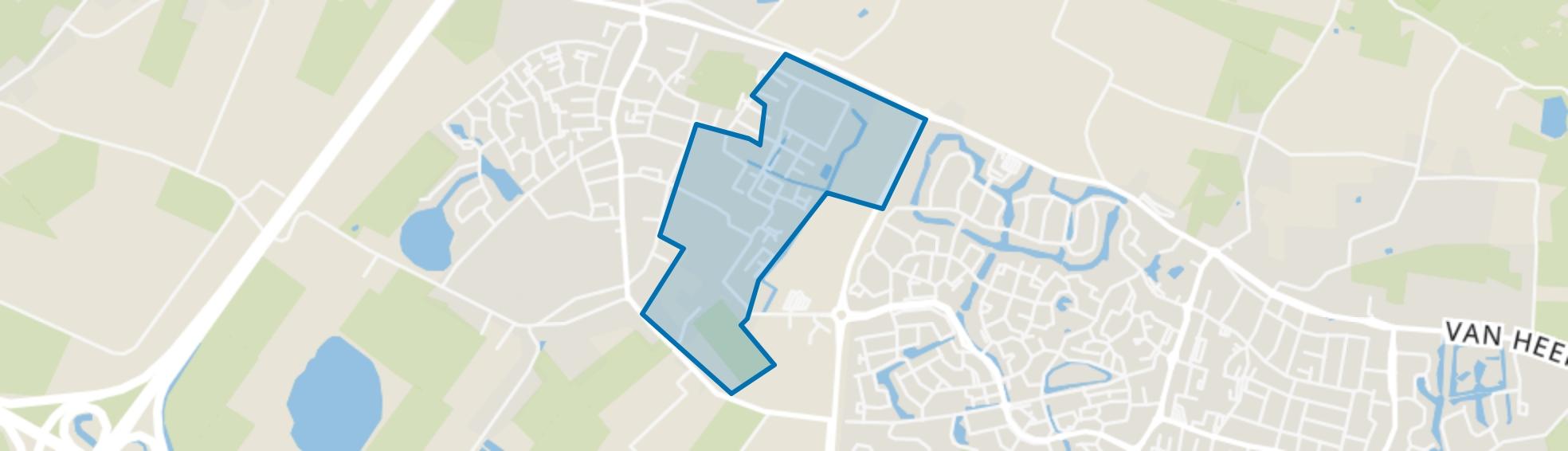 Ewijk-Keizershoeve, Ewijk map