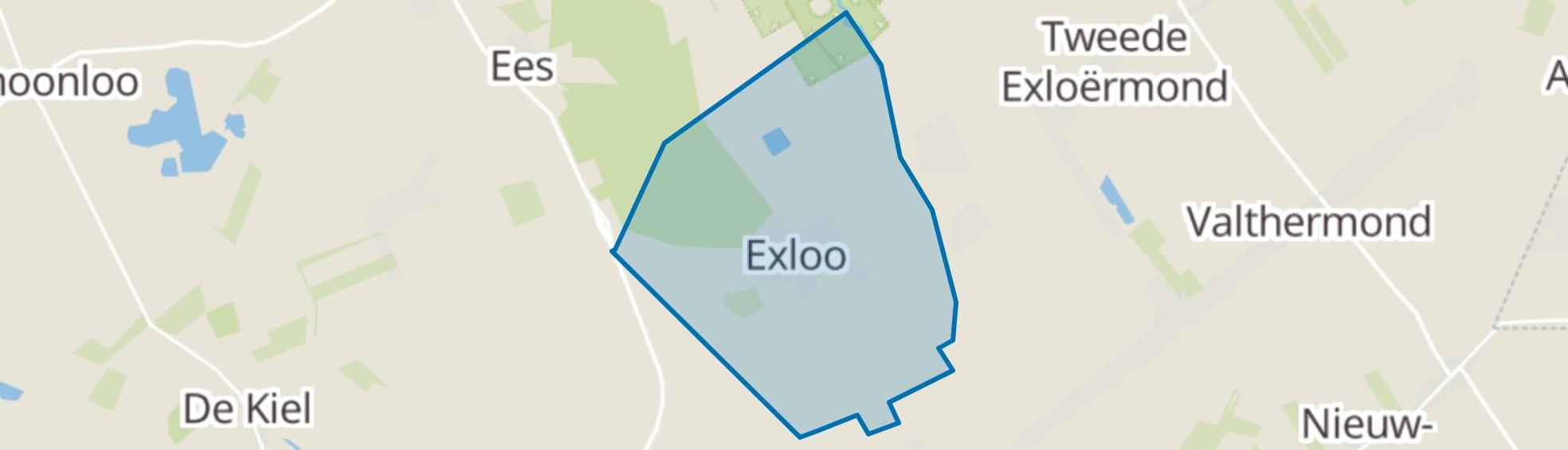 Exloo map
