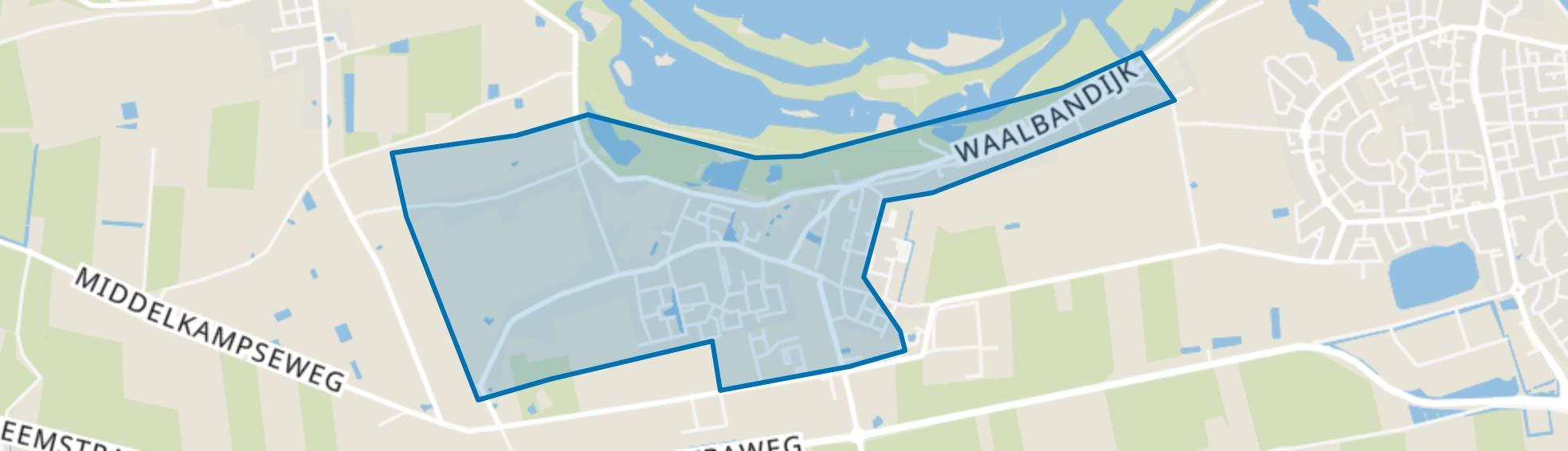 Gameren, Gameren map
