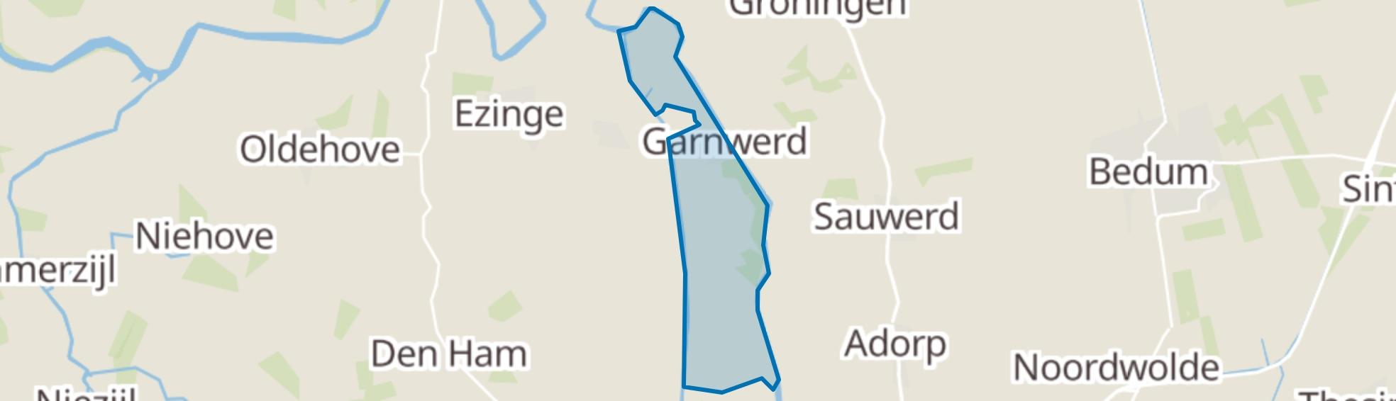 Garnwerd map