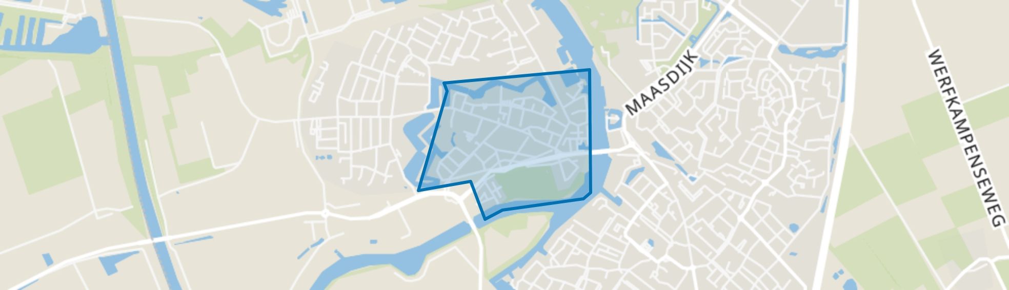 Geertruidenberg-Kom, Geertruidenberg map