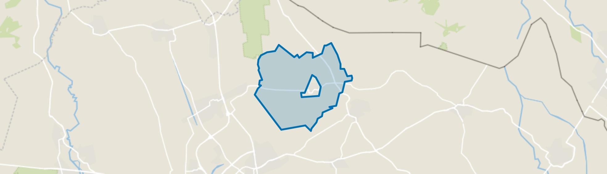 Verspreide huizen Geesteren, Geesteren (OV) map