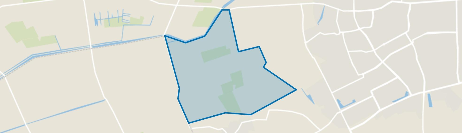 Buitengebied ten noorden van Geffen, Geffen map