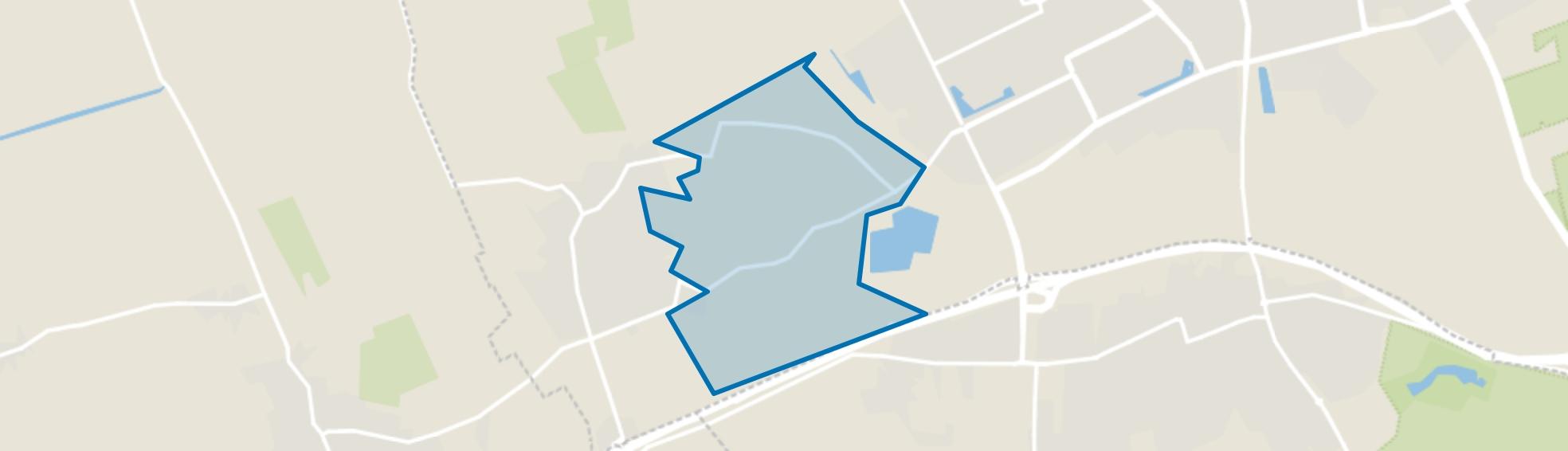 Buitengebied ten oosten van Geffen, Geffen map
