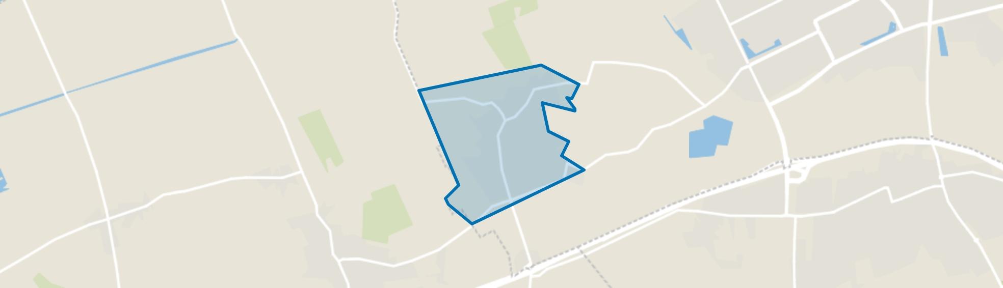 Geffen, Geffen map