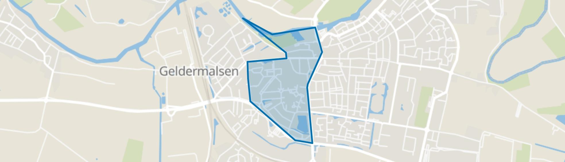 Geldermalsen Middengebied, Geldermalsen map