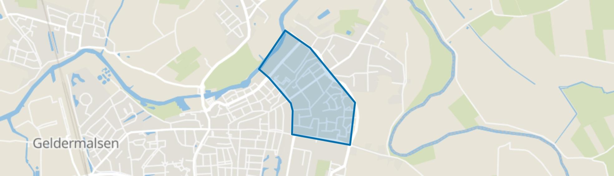 Geldermalsen Oost, Geldermalsen map