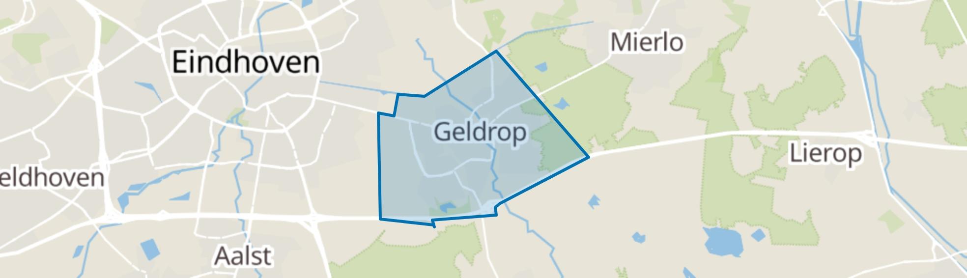 Geldrop map