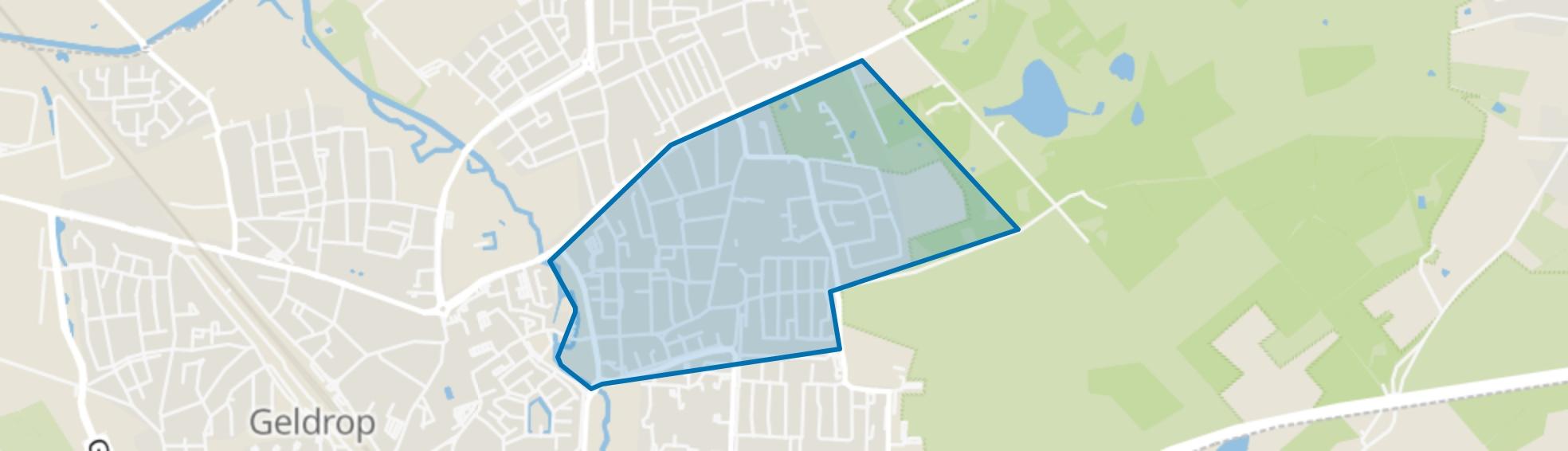 Braakhuizen-Zuid, Geldrop map
