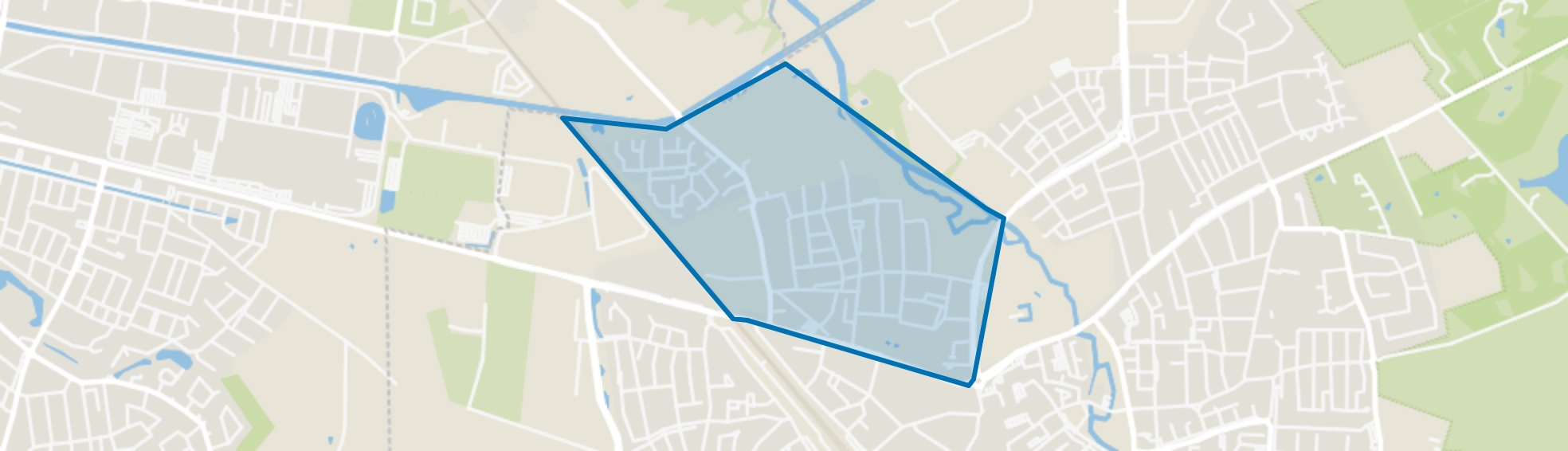 Skandia, Geldrop map