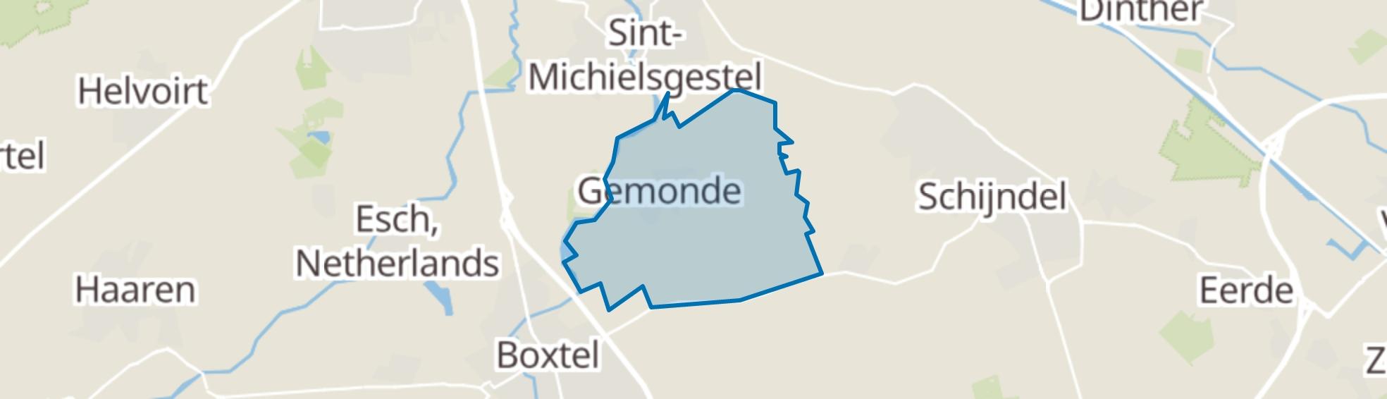Gemonde map