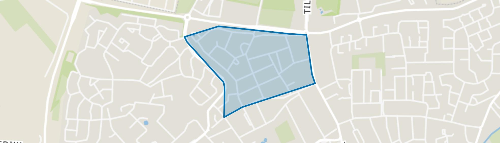 't Ven, Goirle map