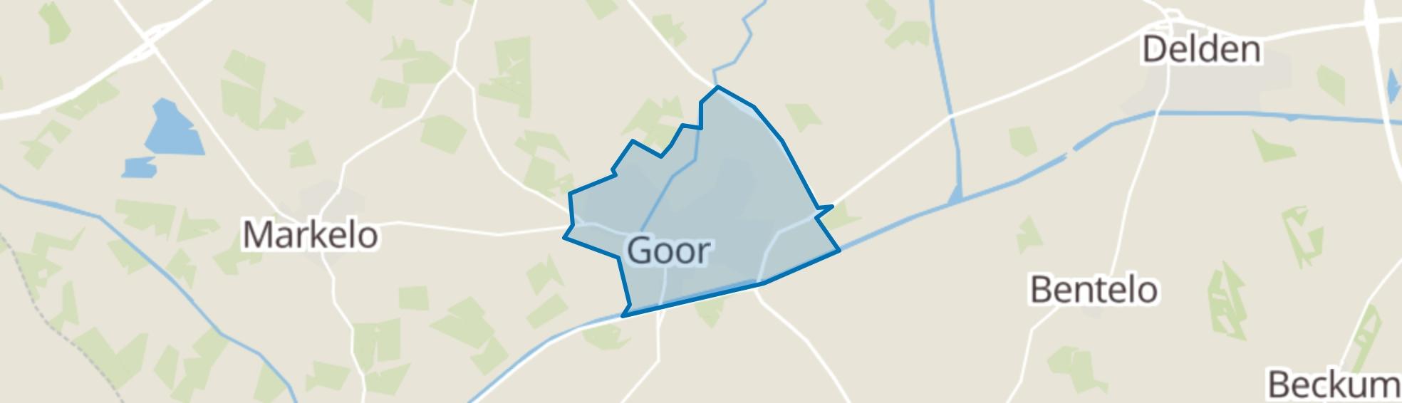 Goor map