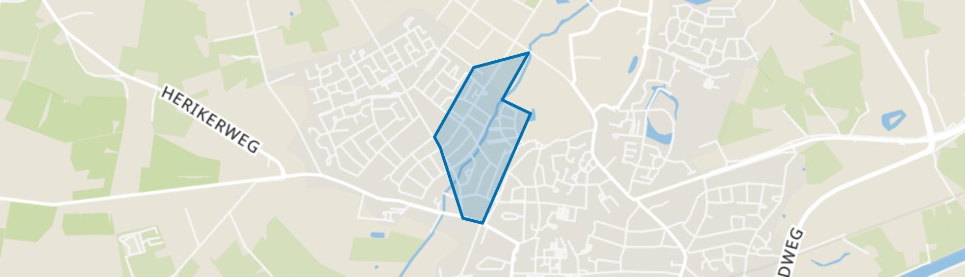 De Whee I, Goor map