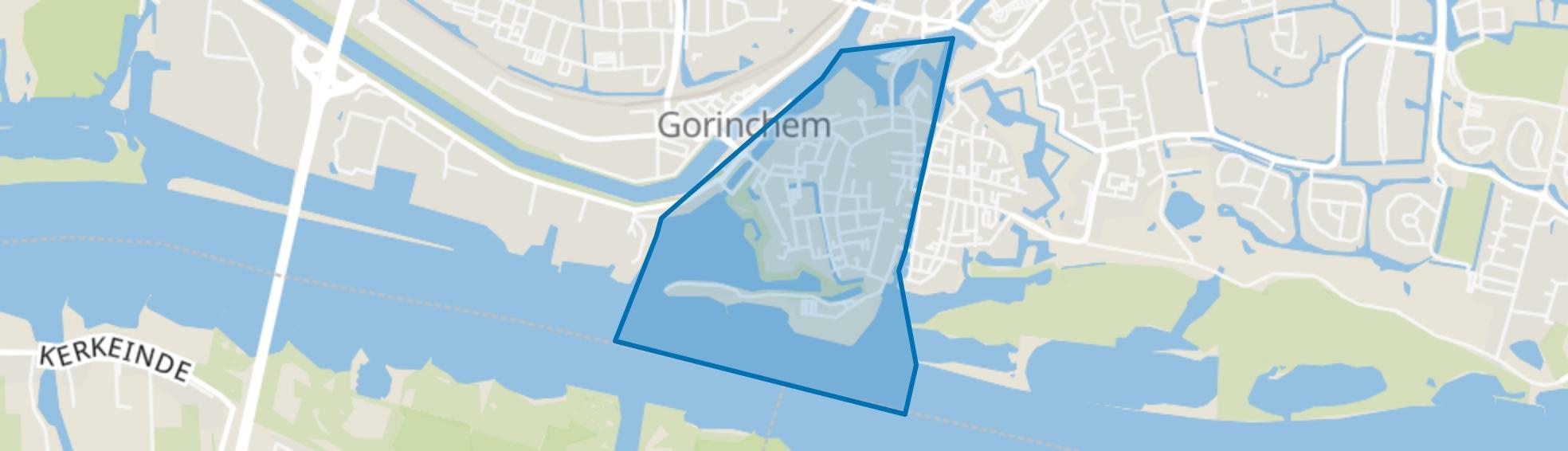 Benedenstad, Gorinchem map