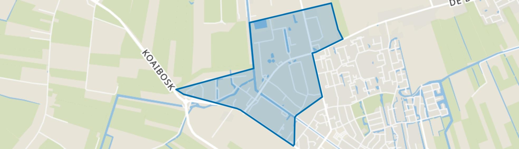 Gorredijk-De Kromten, Gorredijk map