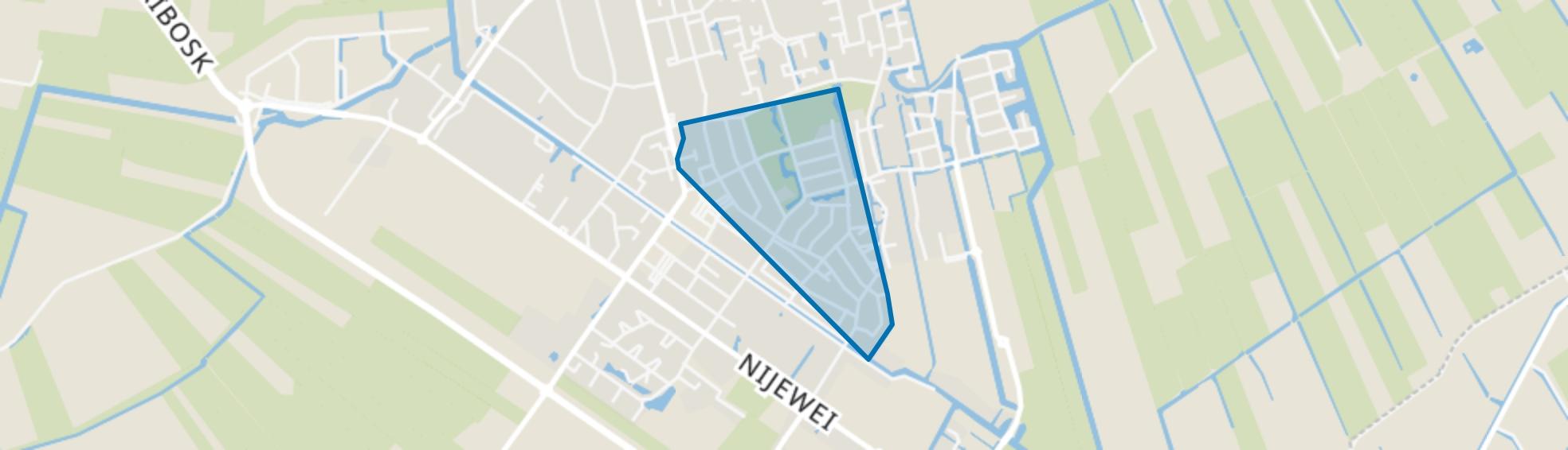 Gorredijk-Groene Long, Gorredijk map