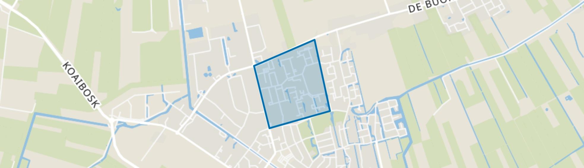 Gorredijk-IJ buurt, Gorredijk map