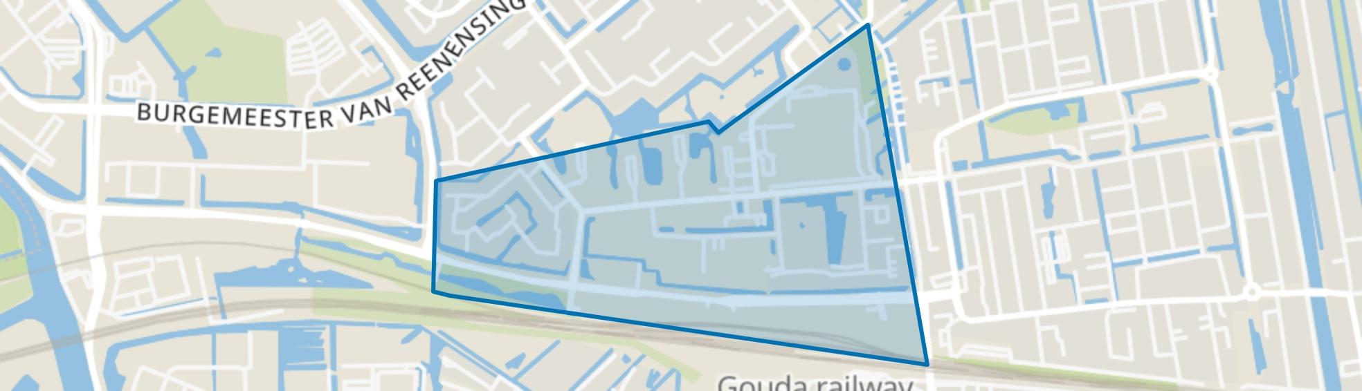 Boerhaavekwartier, Gouda map