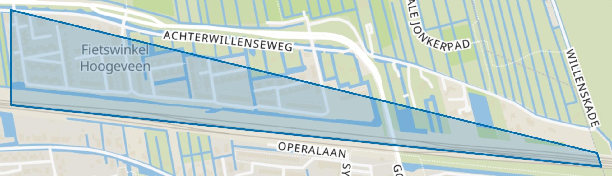 Middenwillens, Gouda map
