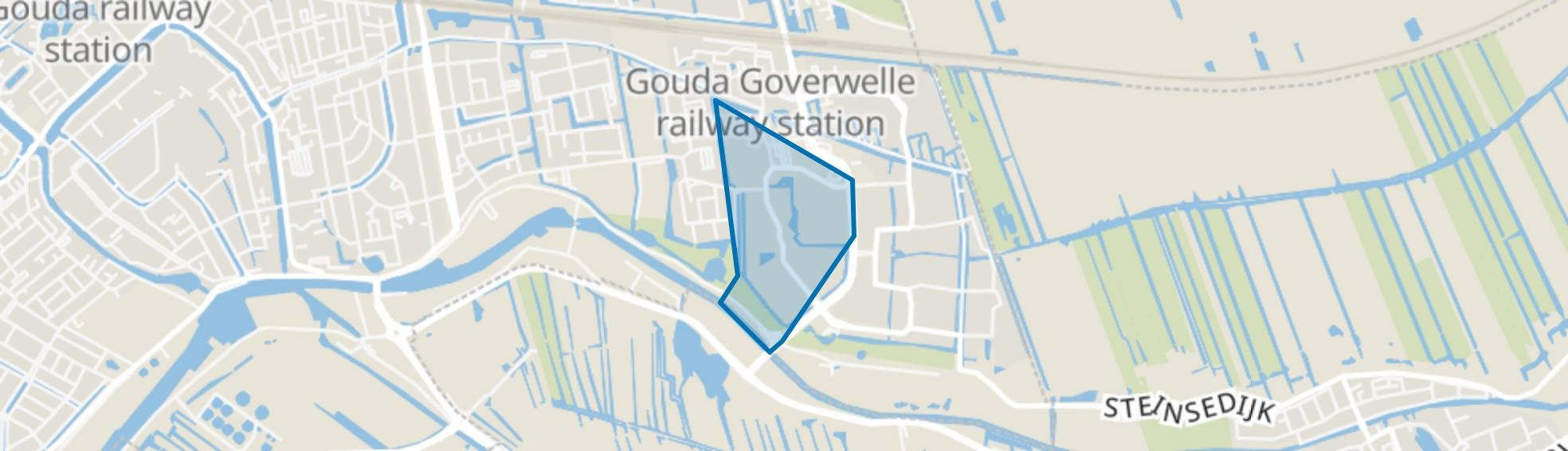 Molenbuurt, Gouda map