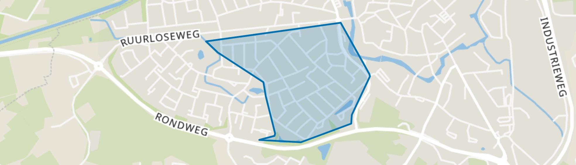 Papendijk, Groenlo map