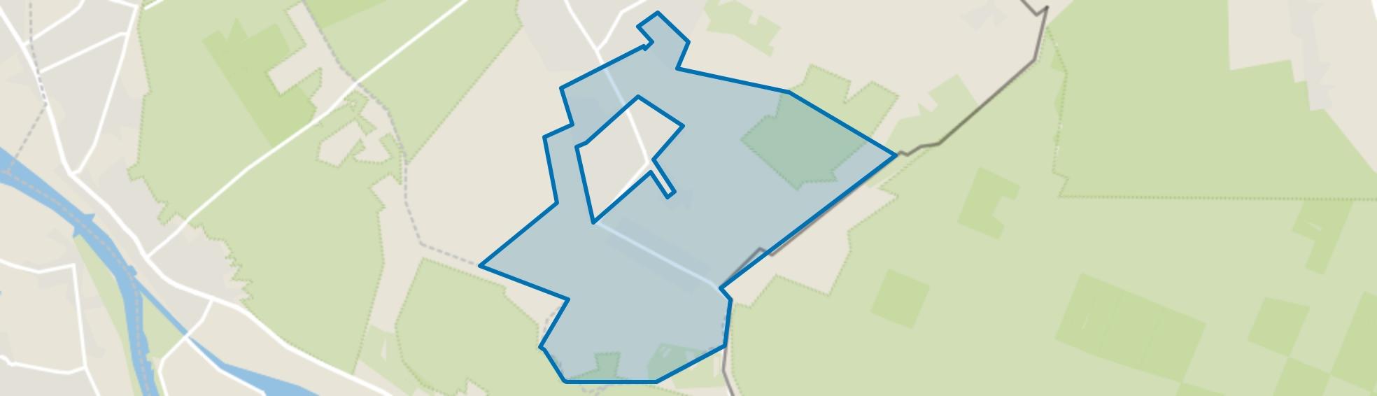 Buitengebied Breedeweg, Groesbeek map