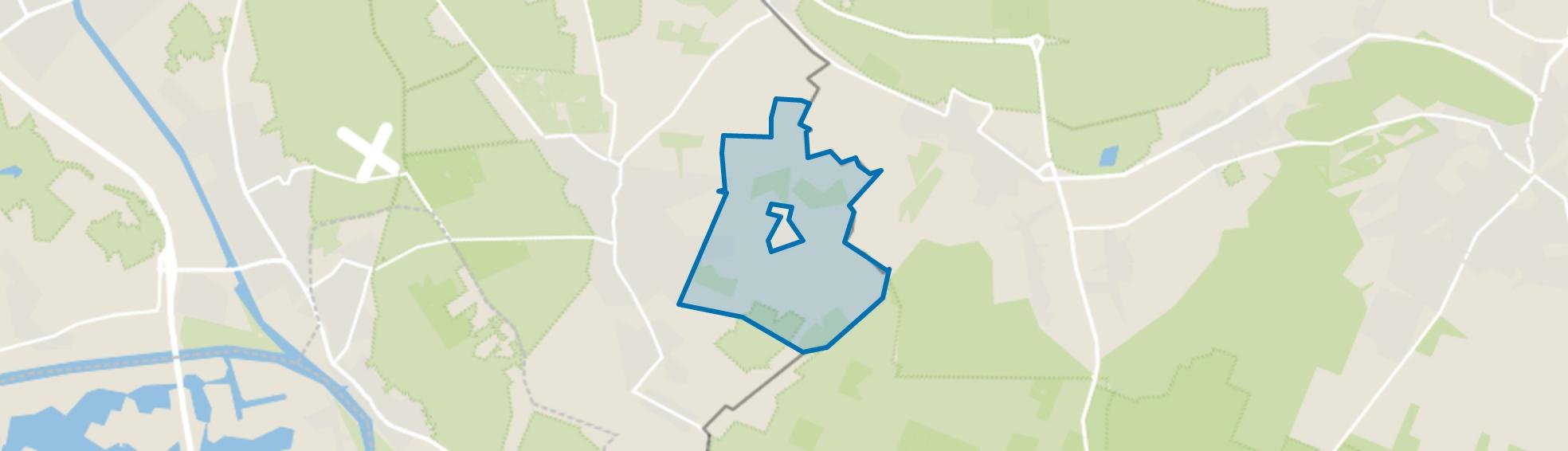 Buitengebied De Horst, Groesbeek map