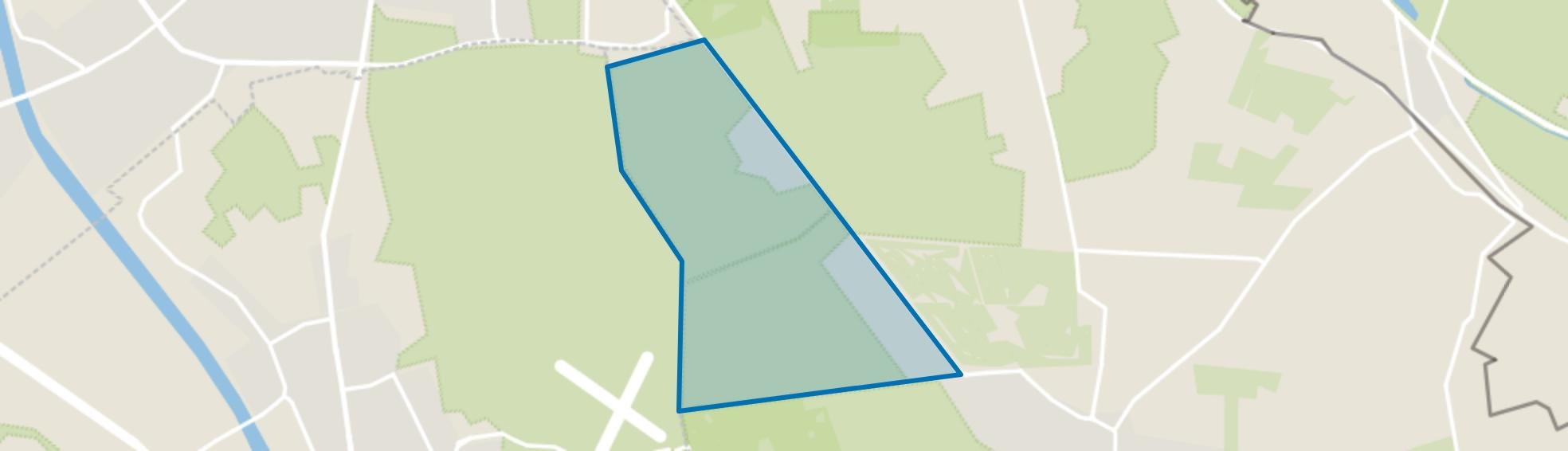 Buitengebied Groesbeek-Noord-West, Groesbeek map
