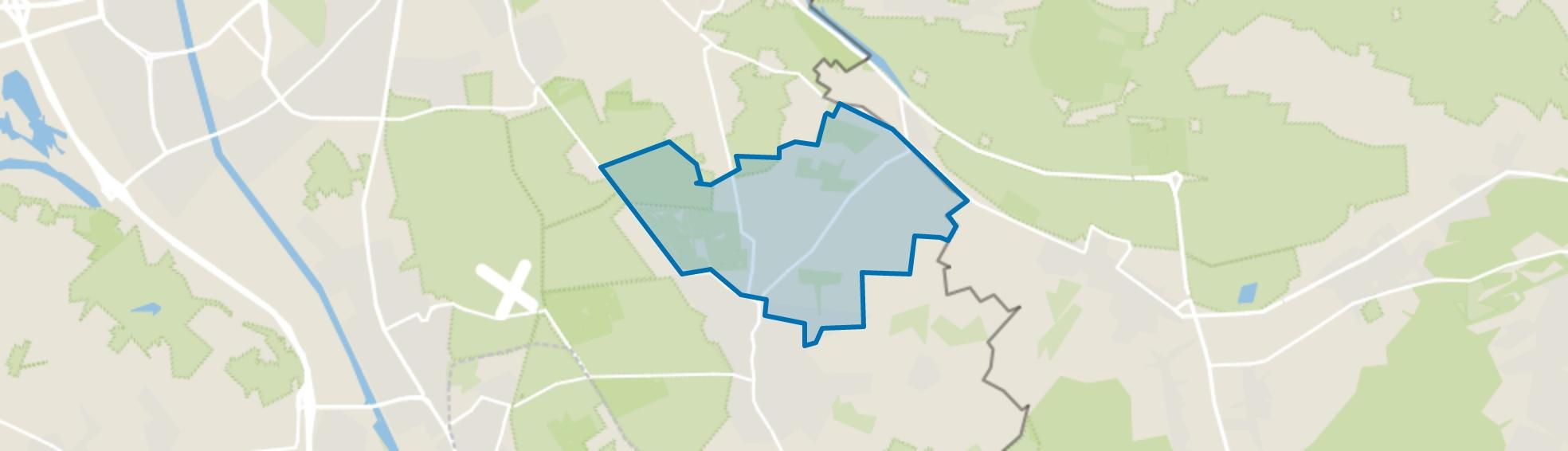 Buitengebied Groesbeek-Noord, Groesbeek map