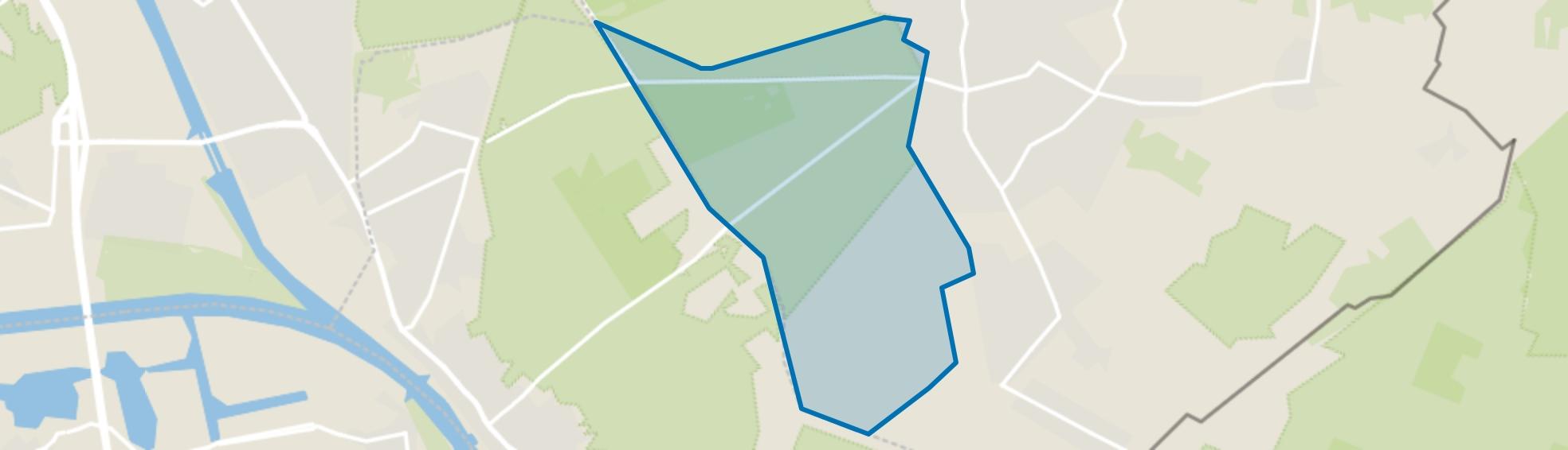 Buitengebied Groesbeek-Zuid-West, Groesbeek map