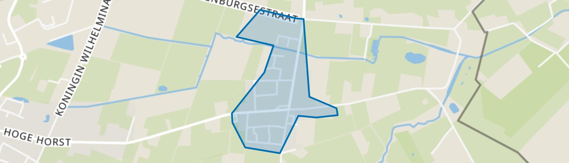 De Horst, Groesbeek map